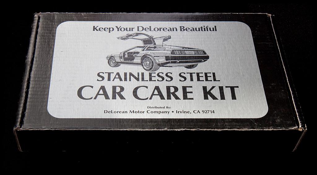 Keep Your DeLorean Beautiful