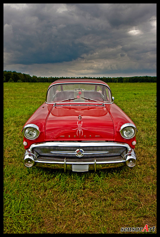 Pinstriped Buick - Before the storm