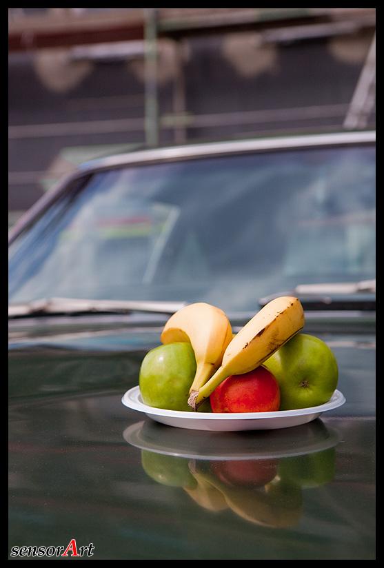An apple a day keeps the mechanic away