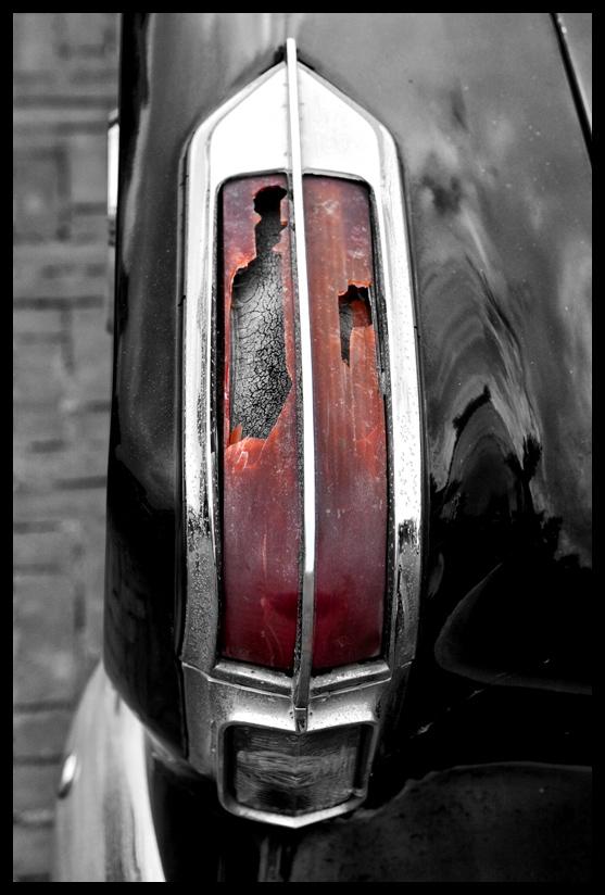 Broken Brakelight
