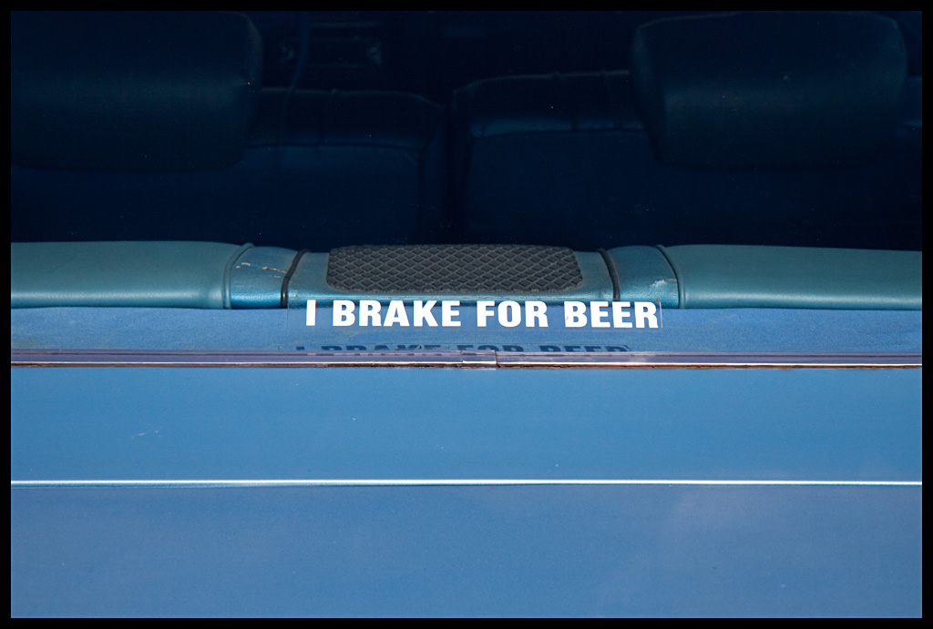 I Brake For Beer