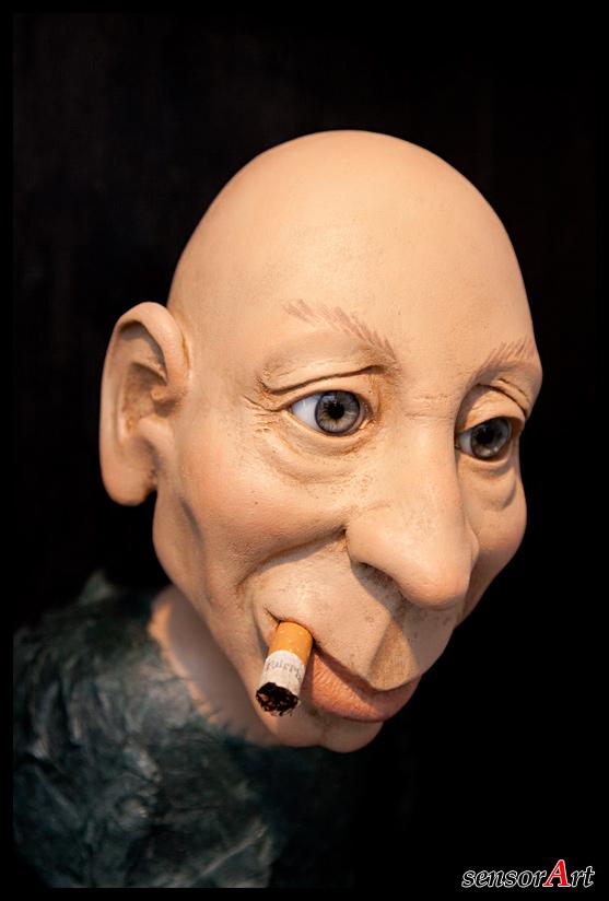Rauchender Kopf