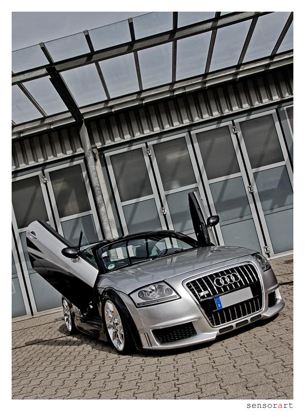 Audi TT mit Lambo-Doors