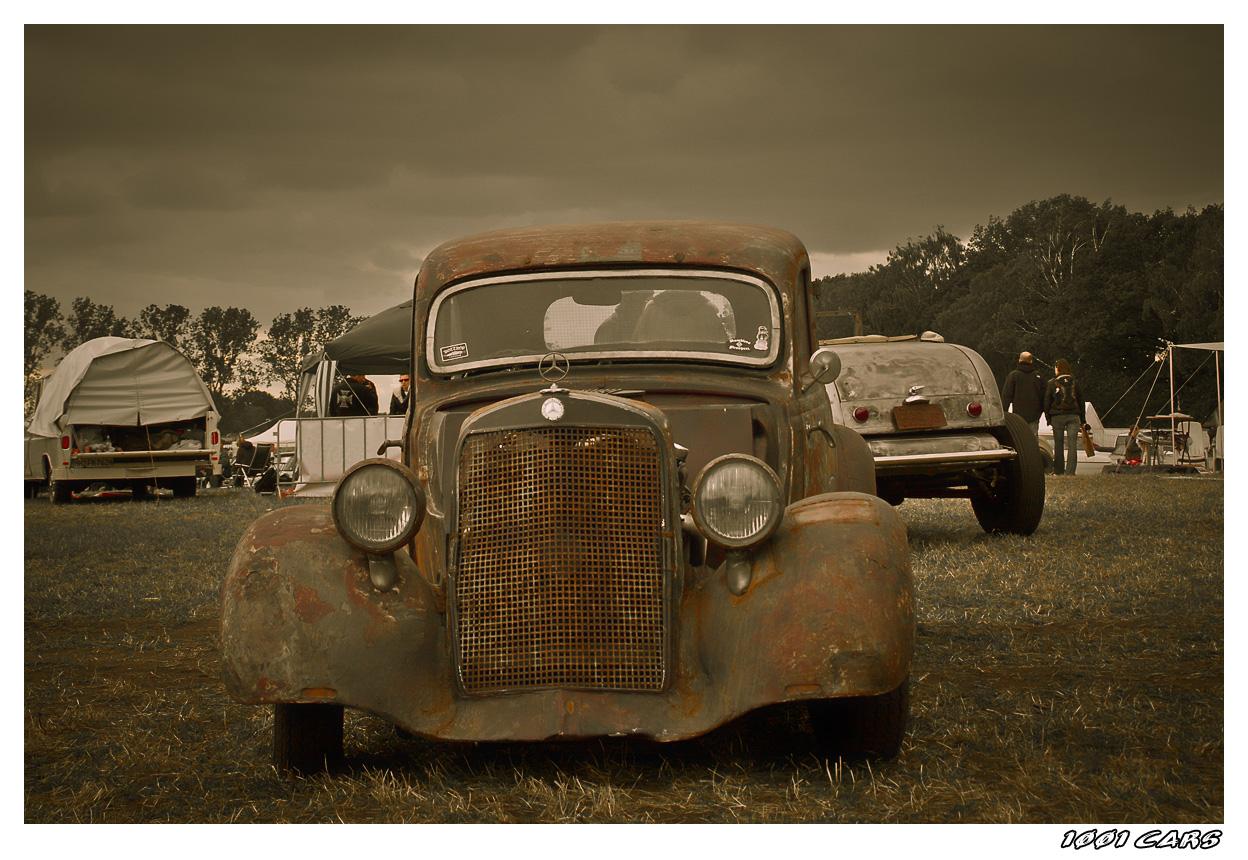 Rusty Benzo Rod