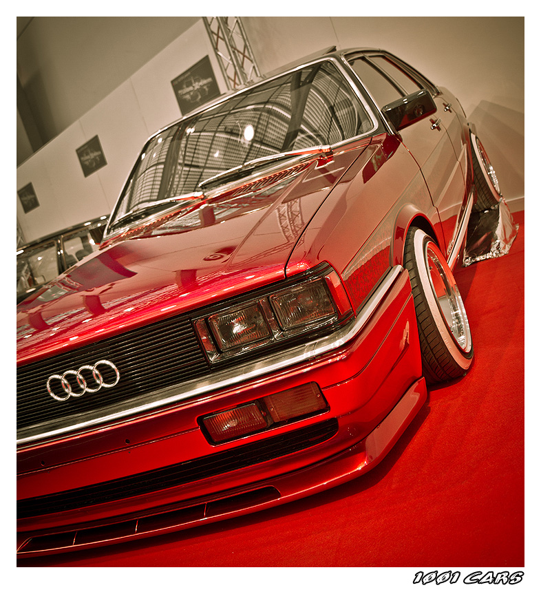 Audi Red Flakes - Front