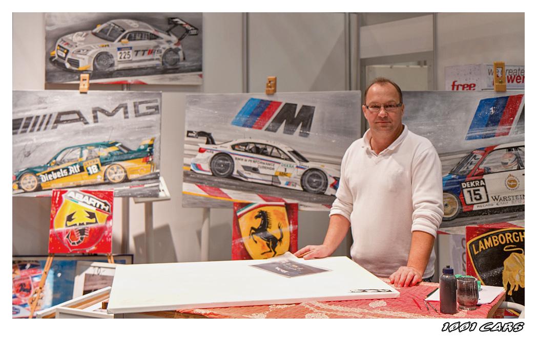 Stefan Kissner bei der Arbeit