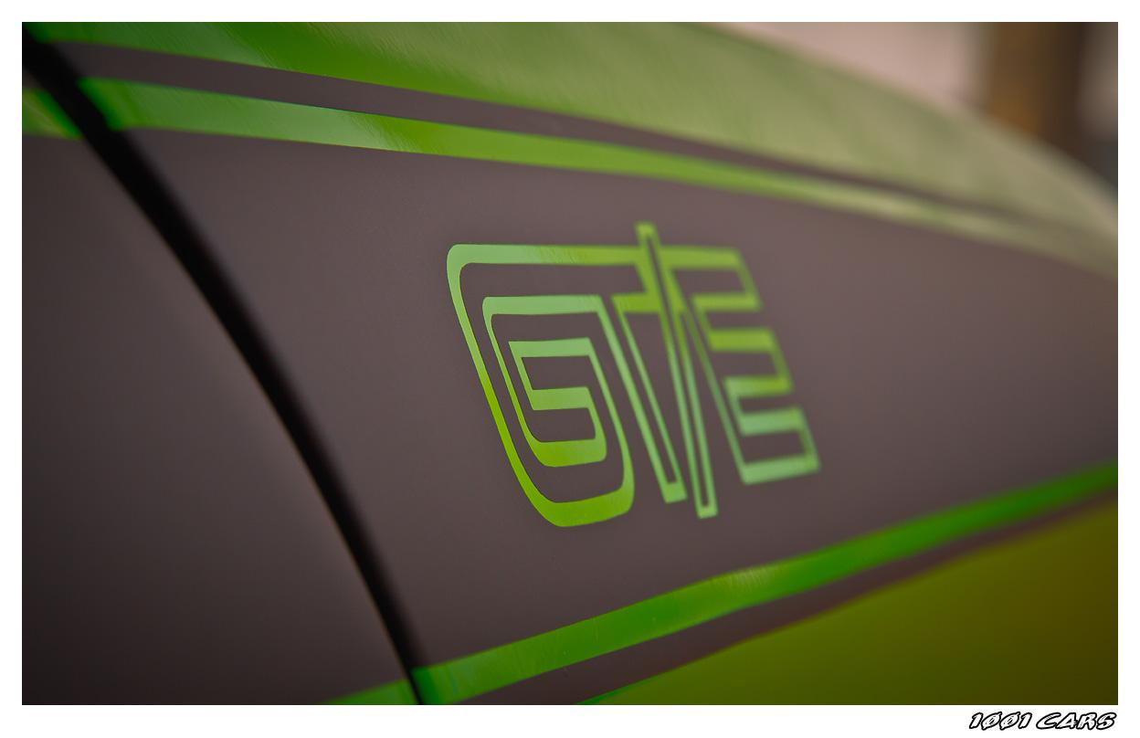 GTE Schriftzug