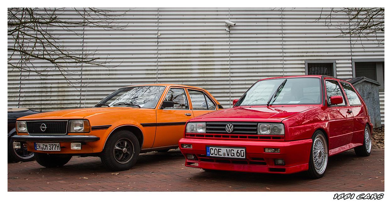 Opel Ascona - VW Golf