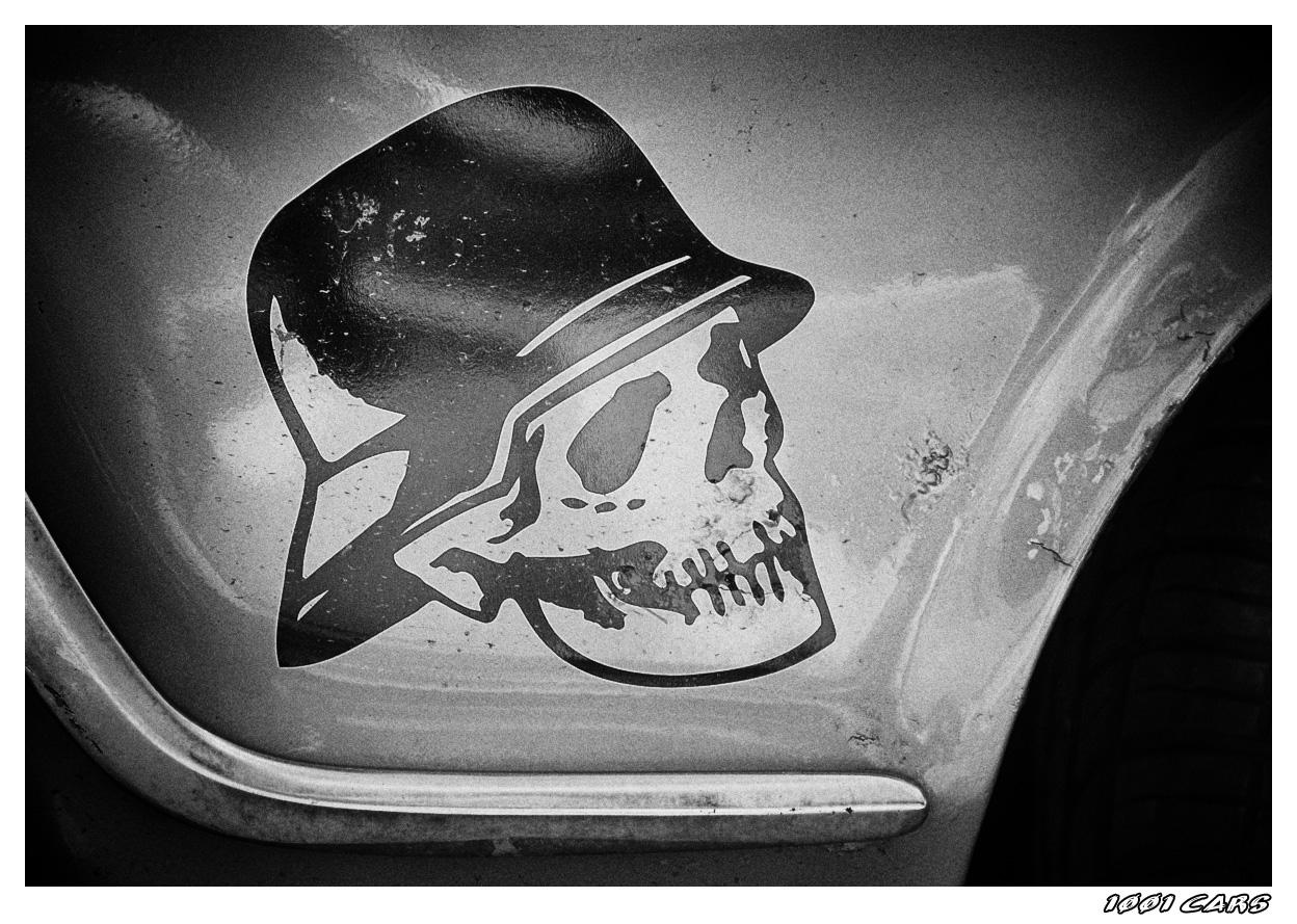 Skull with Helmet