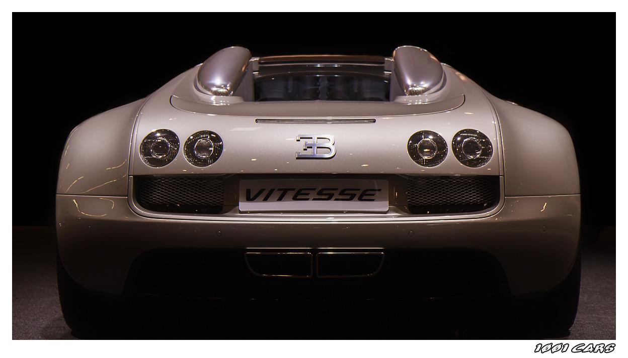 Bugatti Veyron Vitesse - Back