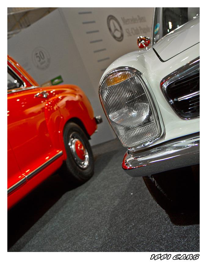 Einmal Mercedes Rot-Weiss