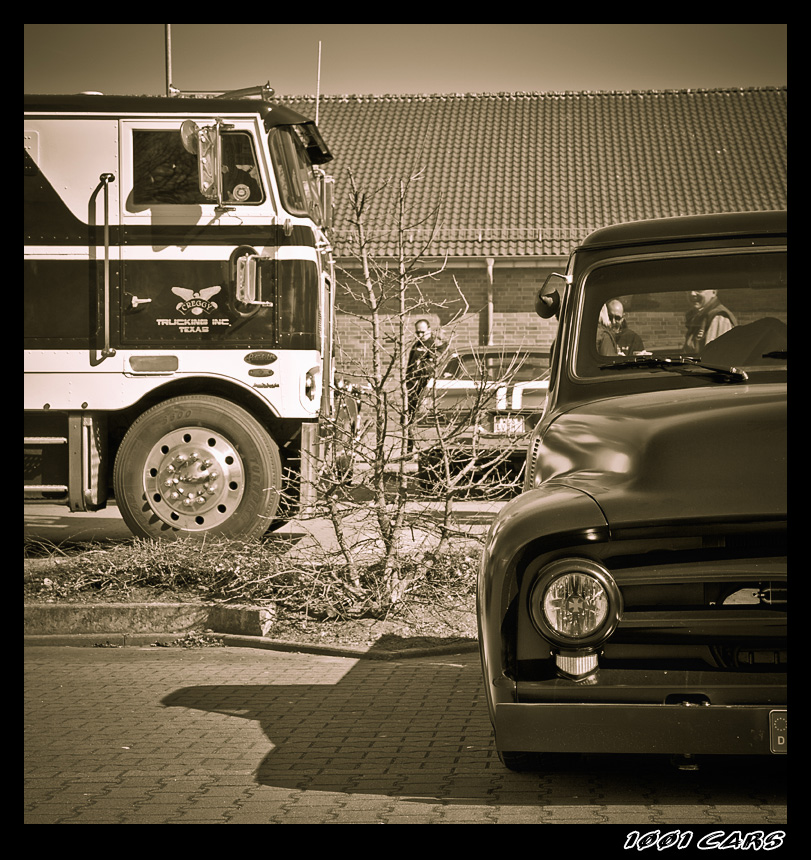 Peterbilt and Ford