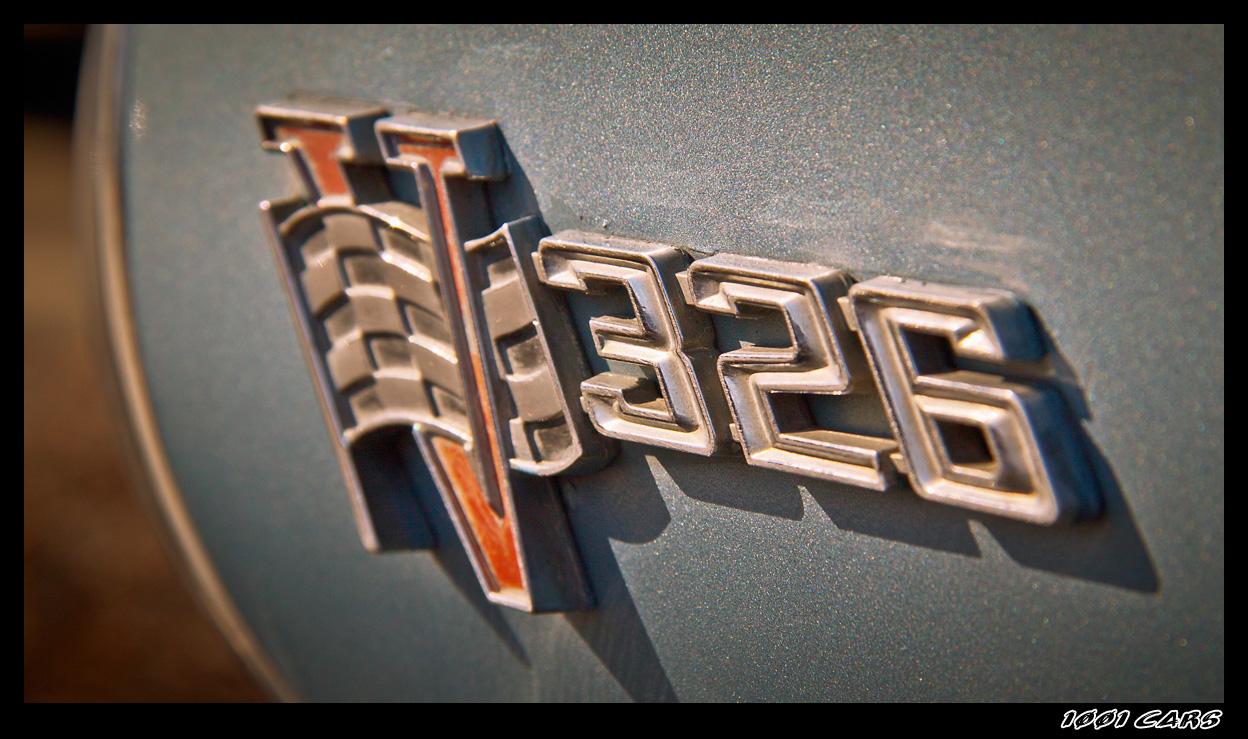 Pontiac Tempest 326 Emblem