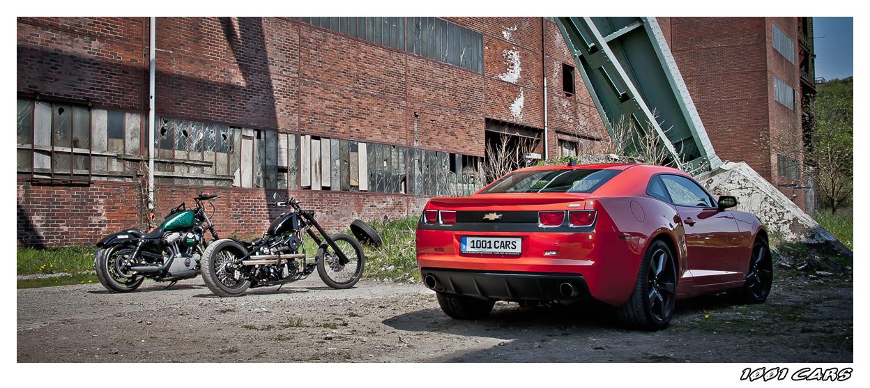 Camaro and Bikes