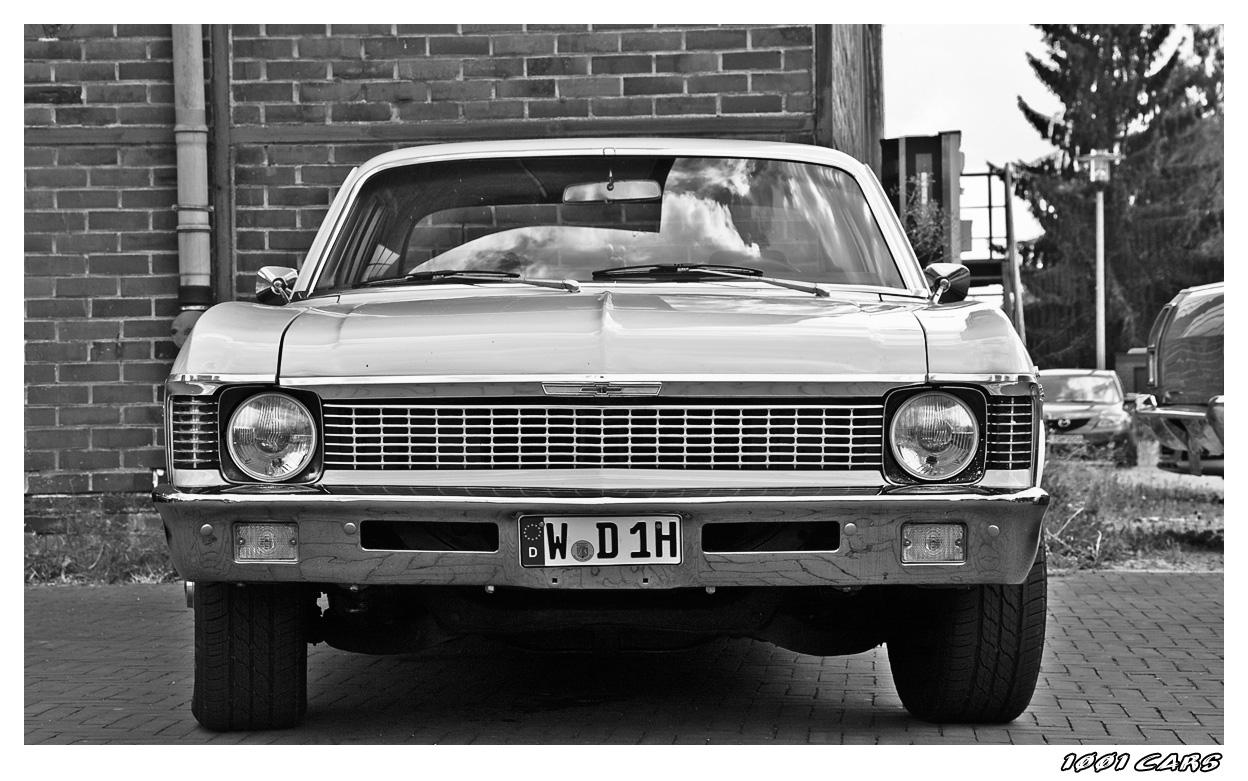 Chevy Nova in BW