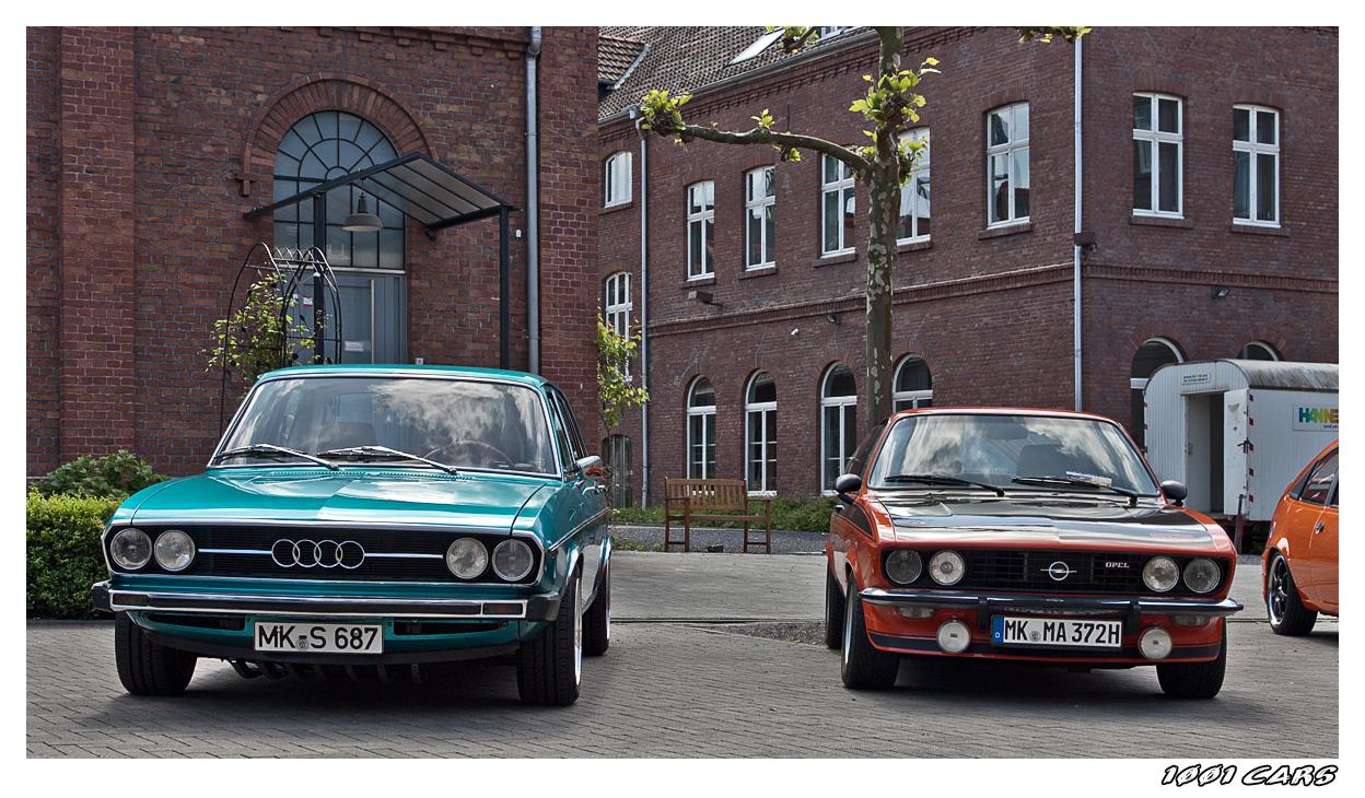 Audi 80 und Manta A