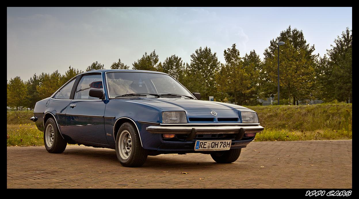 Opel Manta B - In Blue