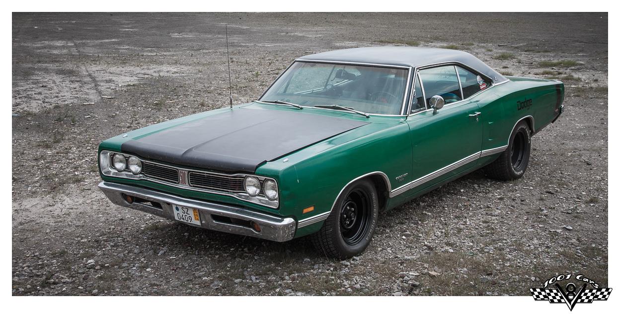 Green Dodge Coronet 500