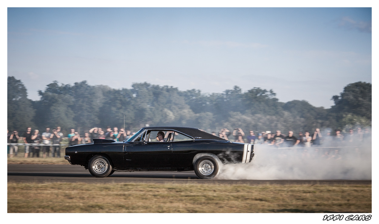 Charger on the run