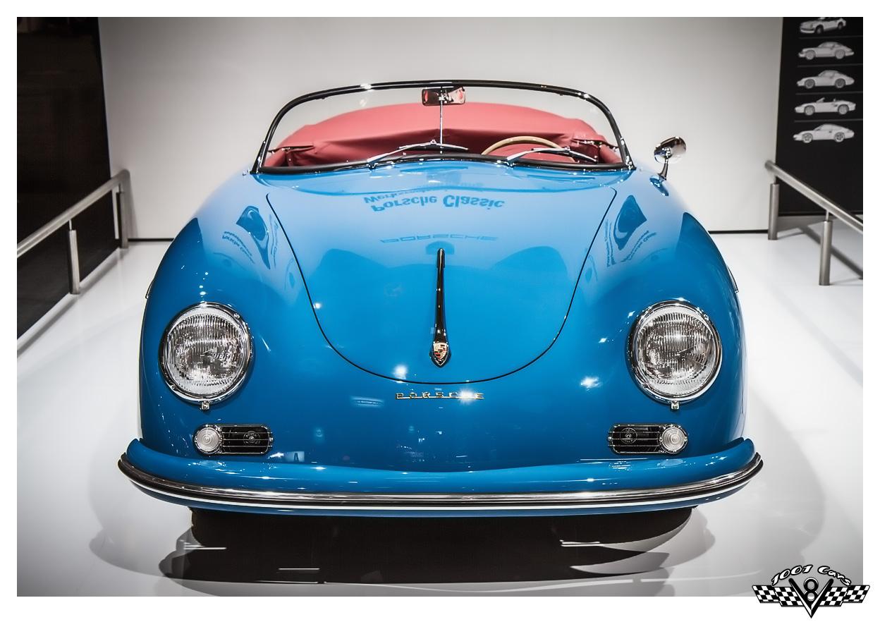 Blue Porsche Coupe
