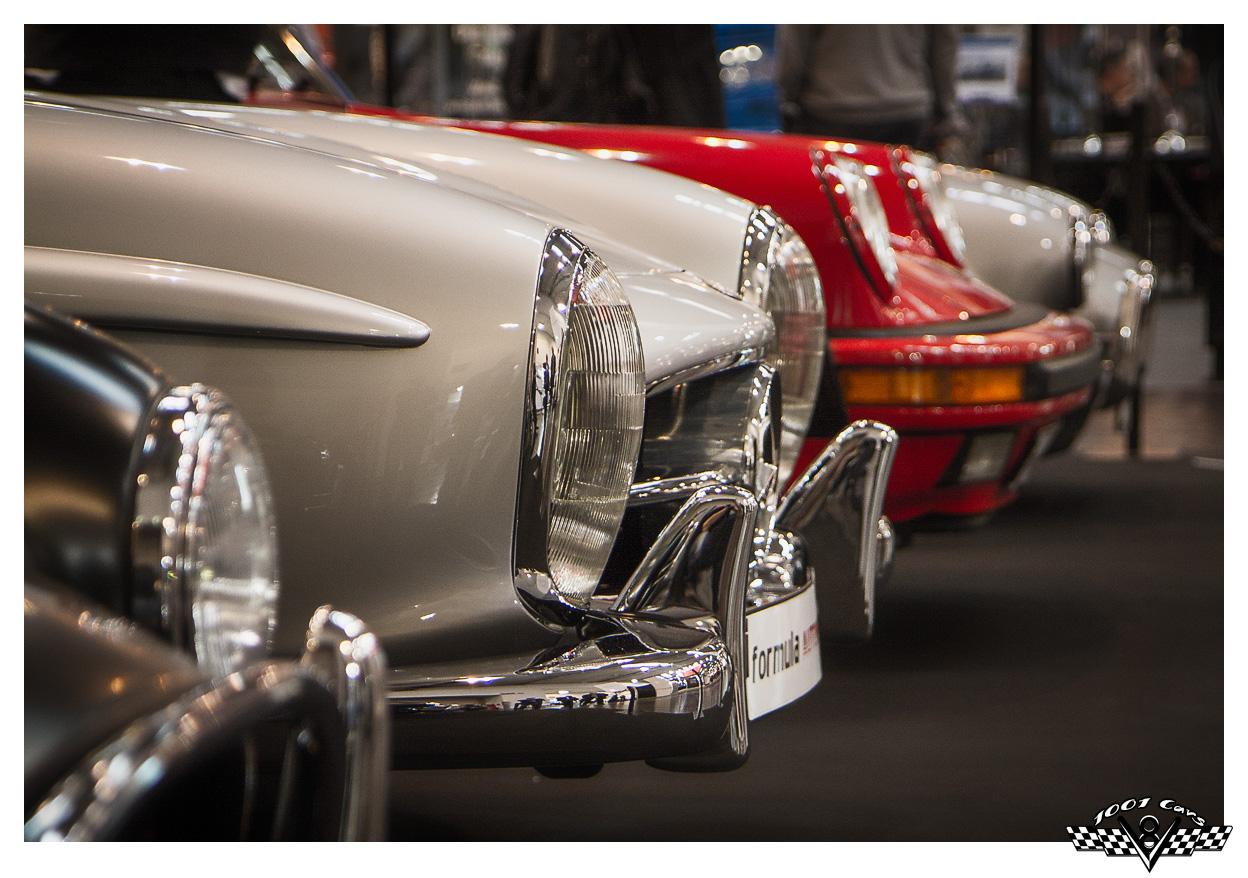 Cobra, Benz and Porsche