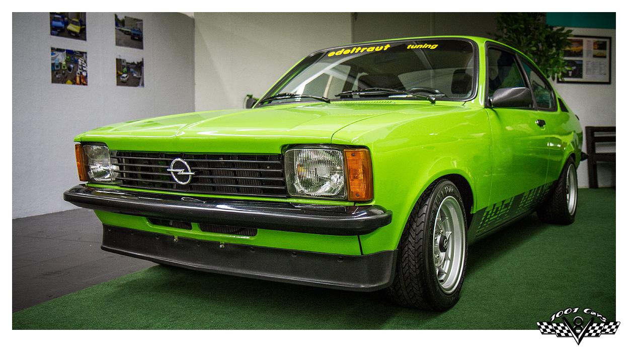 Opel Kadett C Coupe in grün