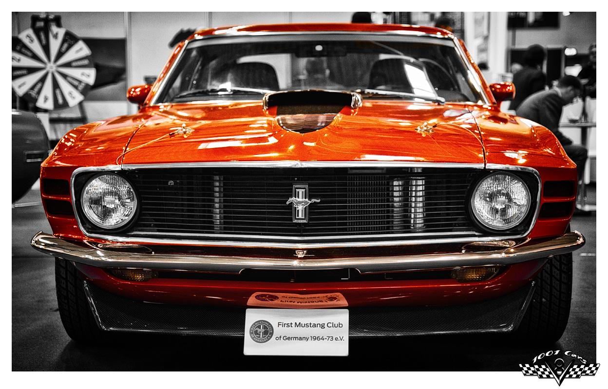 Red Pony Car