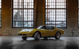 Chevrolet Corvette Stingray 1973 Gold
